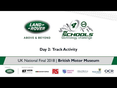 Land Rover 4x4 in Schools National Final 2018 - Pit Interviews