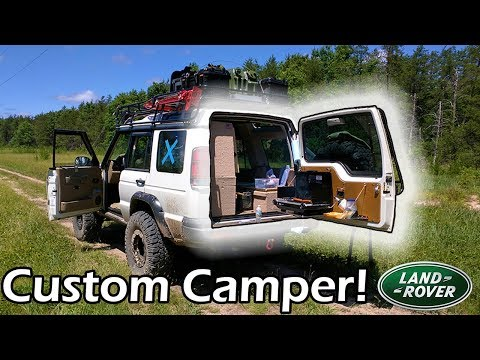 Land Rover Camper! ? [Home on Wheels Interior]