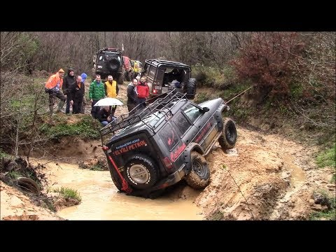 Land Rover Discovery & Defender 90 & Range Rover  **EXTREME OFF-ROAD DAY**  25-03-2018