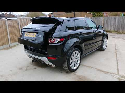 Land Rover Range Rover Evoque 2.2 SD4 Turbo Diesel 190 BHP Dynamic 6 Speed Auto AWD 4x4
