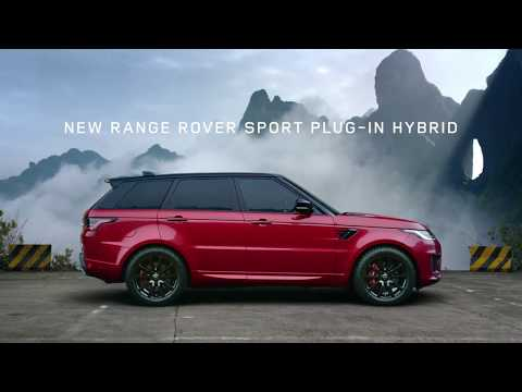 #LANDROVER 2018 Range Rover Sport Plug in Hybrid @ Dragon Challenge BTS The drive