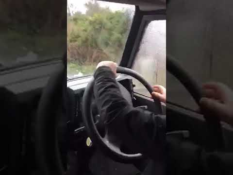 My Landrover driving test