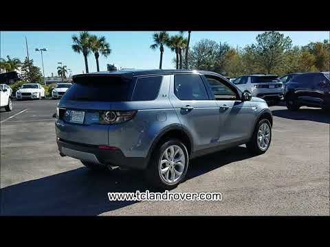 NEW 2018 LAND ROVER DISCOVERY SPORT HSE 4WD at Land Rover Treasure Coast NEW #LR1853