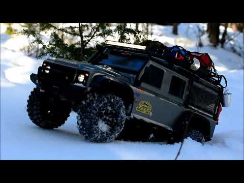 Skansman RC - Traxxas TRX-4 - Defender winter Trophy trail