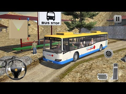 Uphill Offroad Bus Driver 2017 (by Game Town Studio) Android Gameplay [HD]