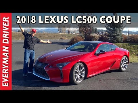 $100,000 for a 2018 Lexus LC 500 Coupe Drive and Review