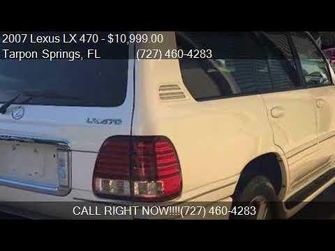 2007 Lexus LX 470 Base 4dr SUV 4WD for sale in Tarpon Spring