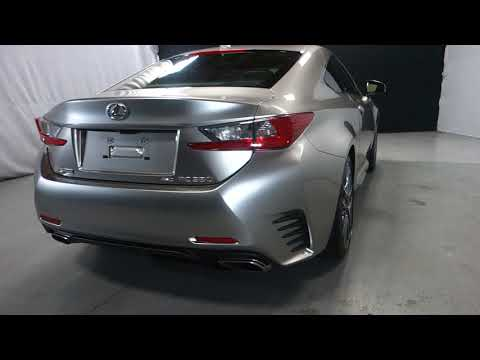 Pre-Owned 2015 Lexus RC 350 F Sport AWD (P8202)