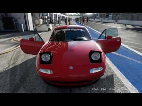 FORZA Motorsport 7 - 1994 Mazda MX-5 Miata - Car Show Speed Crash Test .