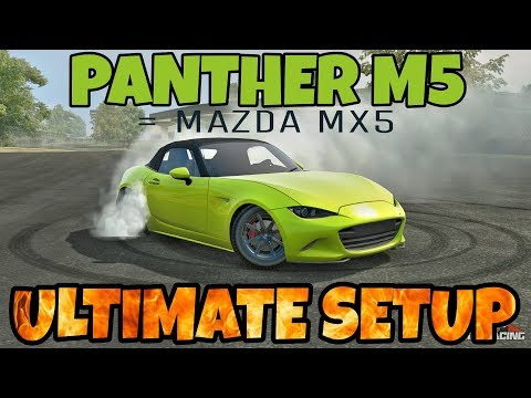 Panther M5 Best Ultimate Setup + Test Drive! (Mazda MX5 Ultimate) CarX Drift Racing