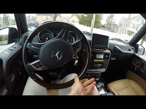 2015 Mercedes G63 AMG POV Review