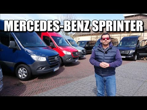 2018 Mercedes-Benz Sprinter (ENG) - First Drive and Review