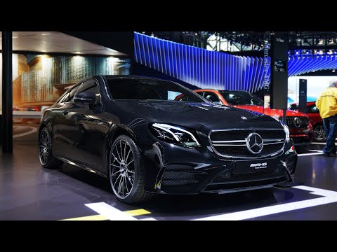 2019 Mercedes-AMG E53 Coupe First Look