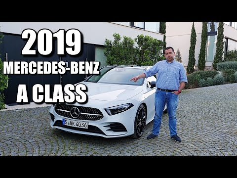 2019 Mercedes-Benz A Class (ENG) - Test Drive and Review, First Drive