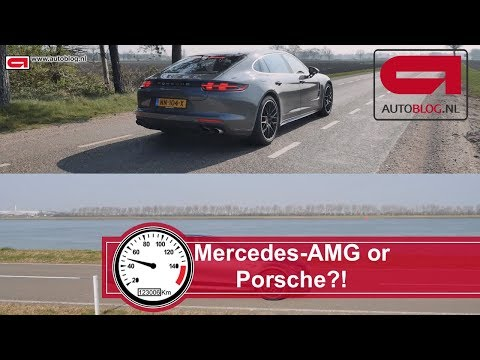 Mercedes-AMG E63S eet Panamera Turbo Executive?!