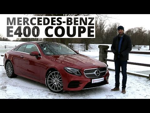 Mercedes-Benz E400 Coupe 3.0 V6 333 KM, 2018 - test AutoCentrum.pl #371