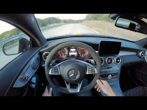 POV Drive - Mercedes-AMG C63 S Coupe Edition 1
