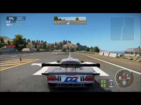Project Cars 2: Mercedes-Benz CLK GTR takes to the air
