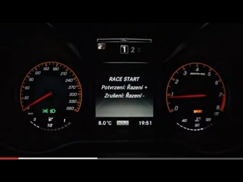SPEED TEST MERCEDES ACCELERATION!!!