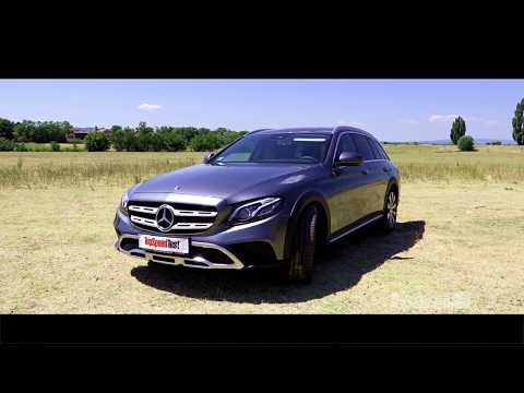 TEST Mercedes-Benz E220d 4MATIC All-Terrain 2017