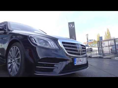 TEST Mercedes - Benz S400d long facelift
