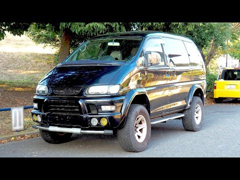 2000 Mitsubishi Delica Space Gear Lifted 4x4 Minivan (Canada Import) Japan Auction Purchase Review