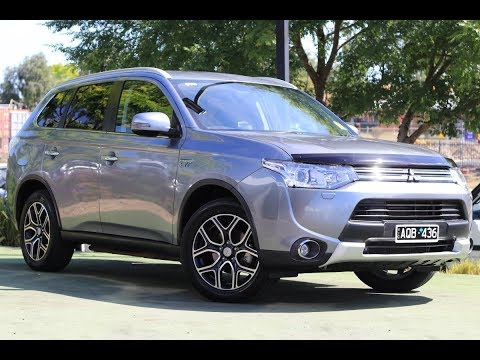 B7461 - 2014 Mitsubishi Outlander PHEV Aspire ZJ Auto AWD Walkaround Video
