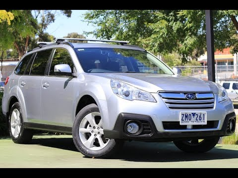 B7721 - 2013 Subaru Outback 2.5i Premium 4GEN Auto AWD Walkaround Video