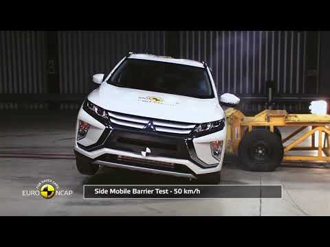 Crash Test of Mitsubishi Eclipse Cross 2018