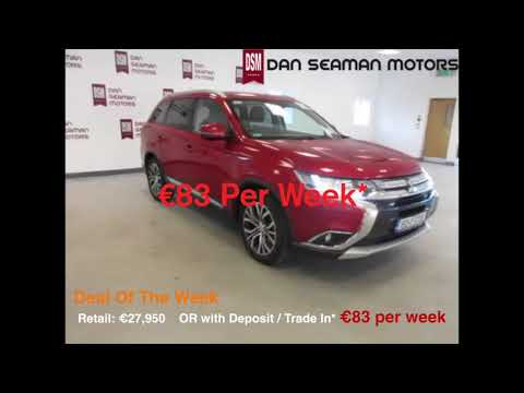 Deal Of The Week - 2015 Mitsubishi Outlander