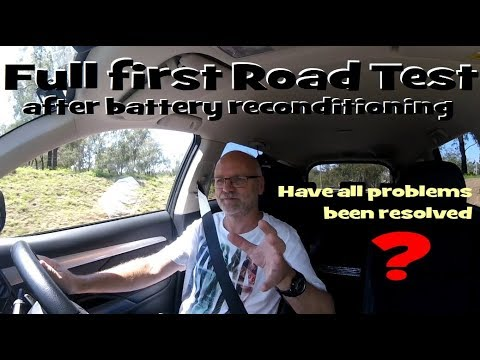 Ep5B - Documented Road Test with Outlander PHEV after Battery Reconditioning
