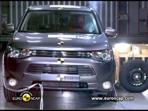 ??Mitsubishi Outlander PHEV 2013 Crash Test??