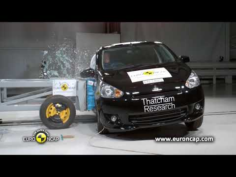 ??Mitsubishi Space Star Mirage 2013 Crash Test??