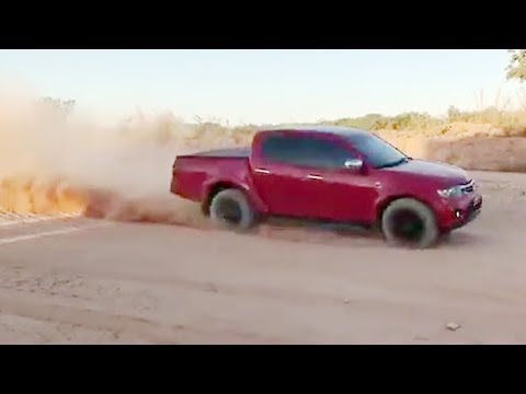 MITSUBISHI TRITON - The Ultimate Offroad Pickup Trucks 4x4 race