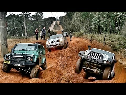 4x4 Zig Zag Wombat Holes Lithgow - Nissan - Jeep - Ford - Land Rover