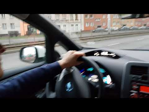 Driving Nissan Leaf (a cabin noise test)