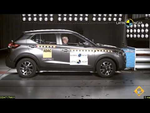 Nissan Kicks (2 Airbags) CRASH TEST