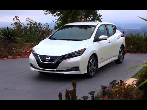 Nissan Leaf 2018 interior Exterior and Drive