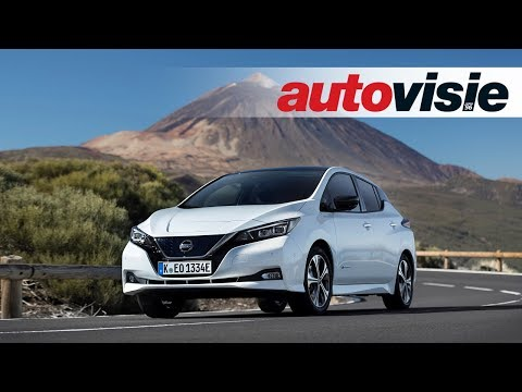 Nissan Leaf (2018) - Test - Autovisie TV