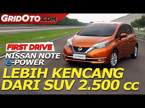 Nissan Note e-POWER | First Drive | GridOto