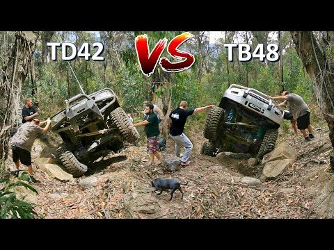 Nissan Patrol 4x4 Challenge TD42 vs TB48 @ The Widow Maker