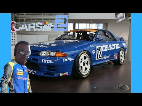 Project cars 2 VR test drive Nissan Skyline R32 Azure Coast
