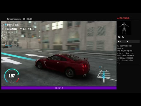 The Crew Test Drive Nissan GTR R35 (live )  ps4 gameplay
