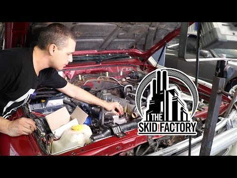THE SKID FACTORY - Nissan Patrol TD42 Turbo Diesel Swap [EP6]
