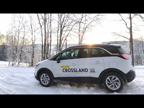 NEW OPEL CROSSLAND X Winter 2017