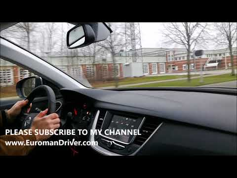 New Opel Grandland X SUV 2018 Test Drive Review with EuromanDriver - Vauxhall Grandland X , Buick