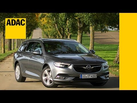 Opel Insignia Sports Tourer 1.6 D im Test I ADAC 2017