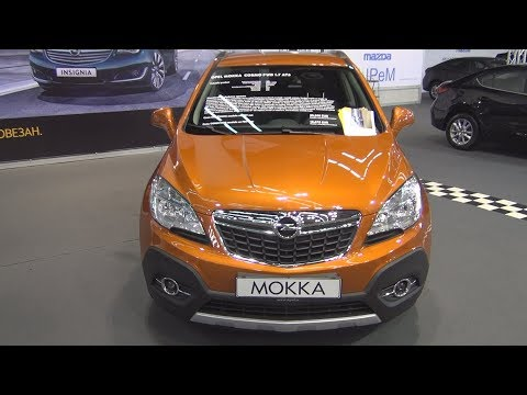 Opel Mokka Cosmo FWD 1.7 AT6 Exterior and Interior