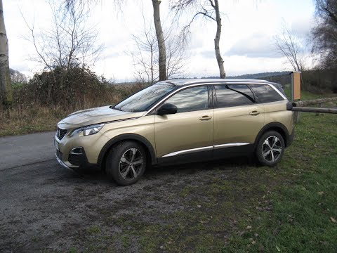 Family-SUV Peugeot 5008 1.2 Puretech 130 EAT6 (Test 6)