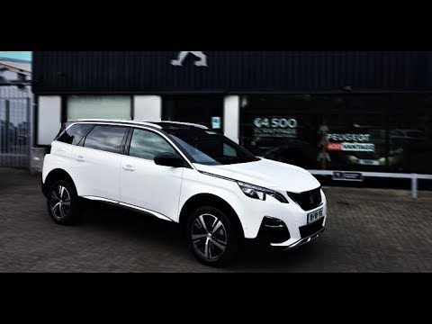NEW 2018 - Peugeot 5008 GT 2.0L 180hp Line Sport - Exterior and Interior 1080p 60 fps